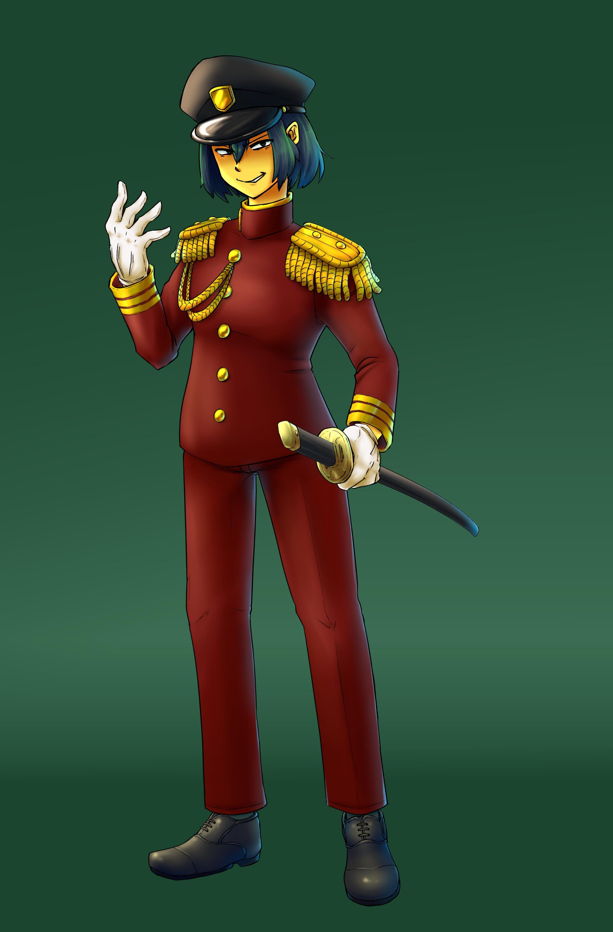 新衣装・帝国主従